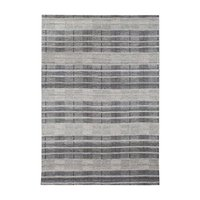 Handgjord matta Romano - Silver