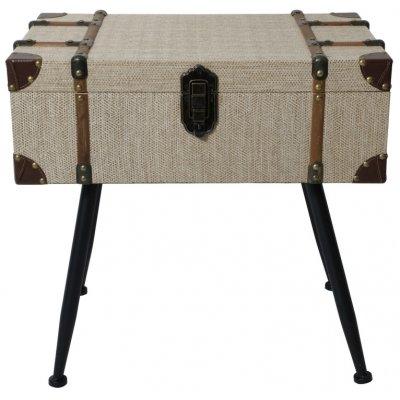 Louis lampbord med förvaring - Koffert