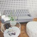 Howard Barkley rak 4-sits soffa - Valfri färg!