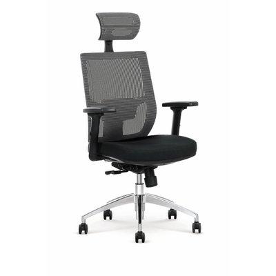 Dionne 2 kontorsstol - Svart/grå