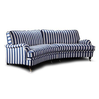 Howard Luxor XXL svängd 5-sits soffa 300 cm - Valfri färg!
