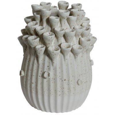Vas Caleta H22 cm - Vit