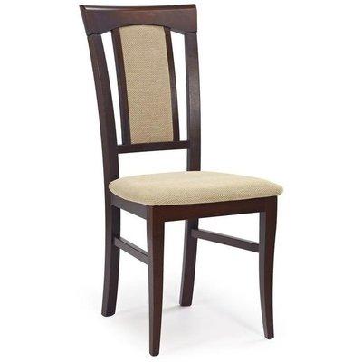 Kara stol - Valnöt/beige