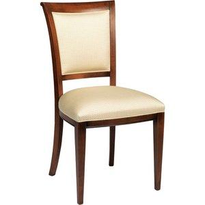 Alaina stol - Kastanjebrun/beige