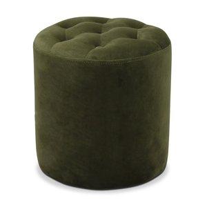 Space sittpuff - Grön sammet
