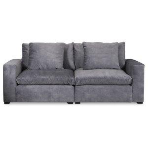 Fiskvik modulsoffa 3-sits soffa - Grå Adore Velour