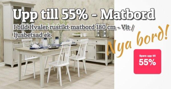 Matbord - Upp till 55% rabatt