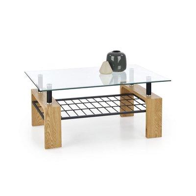 Cassie soffbord - Ek/svart