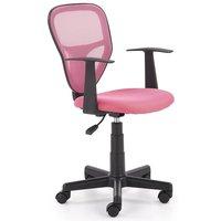 Ingolf skrivbordsstol för barn - Rosa/svart