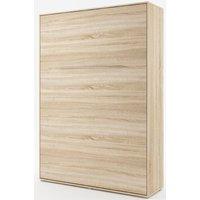 Sängskåp compact living Vertikalt (140x200 cm fällbar säng) - Ljus ek