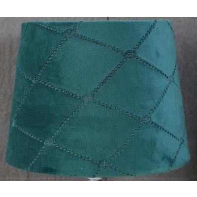 Velvet Diamond lampskärm 20 cm - Turkose