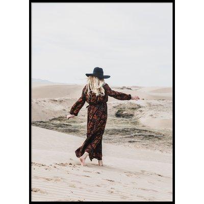 DESERT WOMAN - Poster 50x70 cm