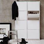 Ont om plats f?r alla skor Vi har l?sningen! - Berlin skosk?p Snygg och smart f?rvaring. S?ker du en mindre modell s? har vi ?ven en serie som heter Oslo! ~ ~ ~ #trendrum #interiordesign #interior #inredning #furniture #design #scandinaviandesign #home #homeinspo #inspiration #interior123 #picoftheday #potd #beautiful #style #decoration #decor #inspo #sweden #swedish #beige #hemma #white #black #shoes #hallway #oslo #berlin