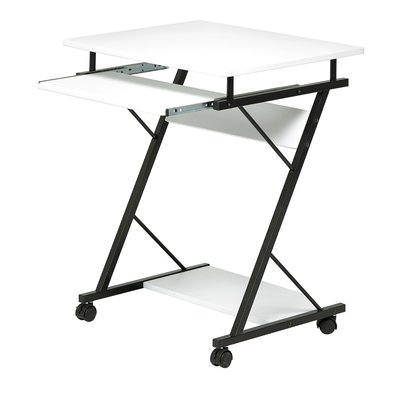 Mini datorbord - svart / vit