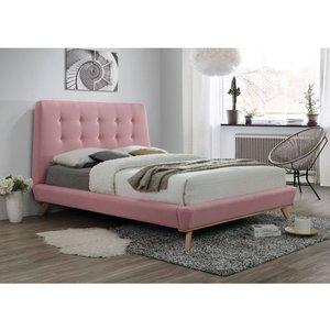 Sängram Vivienne 160x200 cm - Rosa