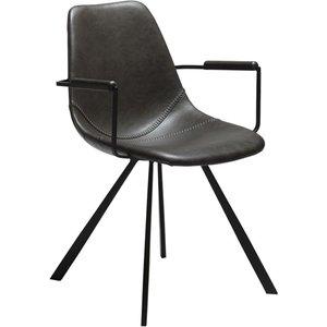 Pitch karmstol - Vintage grå