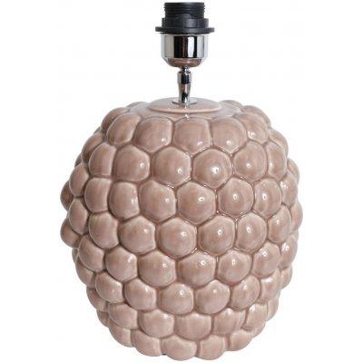 Big Bouble lampfot H32 cm - Rosa (Glansig)
