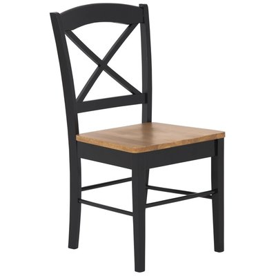 Merida stol - Svart / Ek