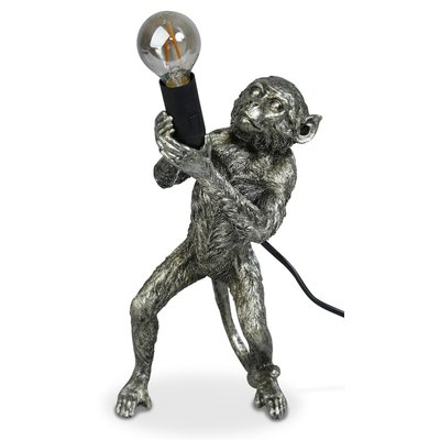 Monkey Bordslampa H40 - Silver