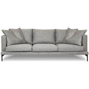 Davis 4-sits soffa - Grå