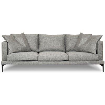 Davis 4-sits soffa - Grå (Rocco 281 tyg)
