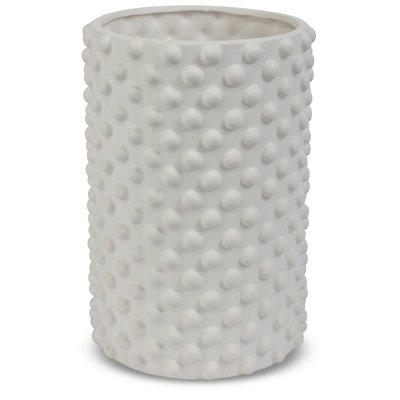 Vas Bubbel H22 cm - Vit