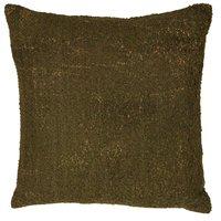 Prydnadskudde Corona - Mossgrön / Guld