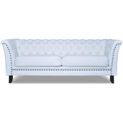 Chester Bridge 3-sits soffa - Vit (Pu)