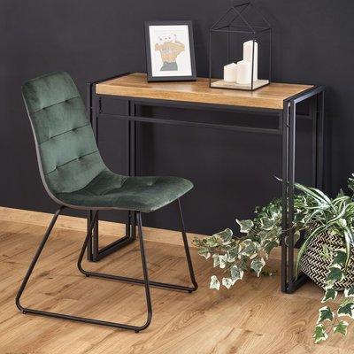Dorine konsolbord - Ek/svart