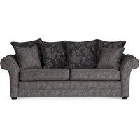 Sultan 3-sits soffa - Grå/brunt mönster