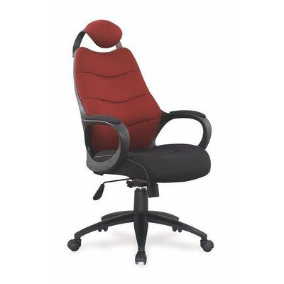 Burcu kontorsstol - Svart/röd