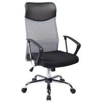 Laylah skrivbordsstol - Svart/grå