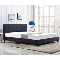 Rylan säng - Mörk grå
