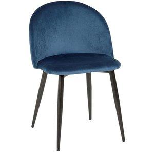 Darling stol - Blå sammet