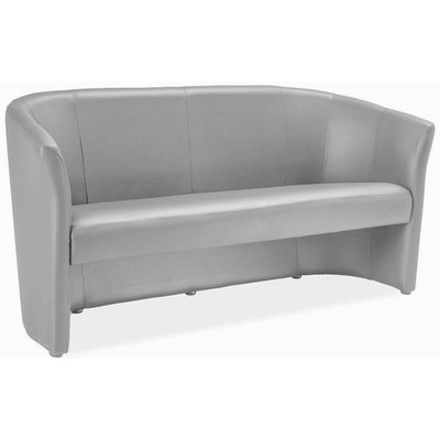 Charity 3-sits soffa - Grå (PU)