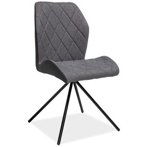 Matstol Zara - Grå/svart