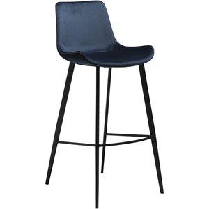 Hype barstol - Midnatt blå