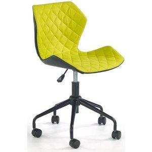 Albana skrivbordsstol - Svart/grön