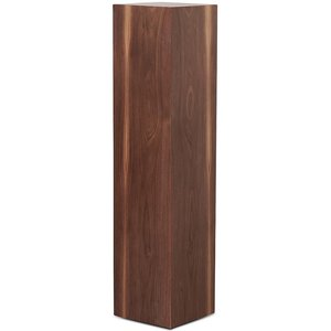 Piedestal LineDesign wood 90 cm - Valnöt