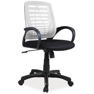 Gracelynn skrivbordsstol - Svart/grå