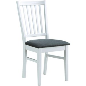 Alivia stol - Vit/grå