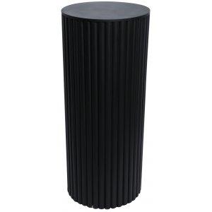 Pure piedestal H80 cm - Svart