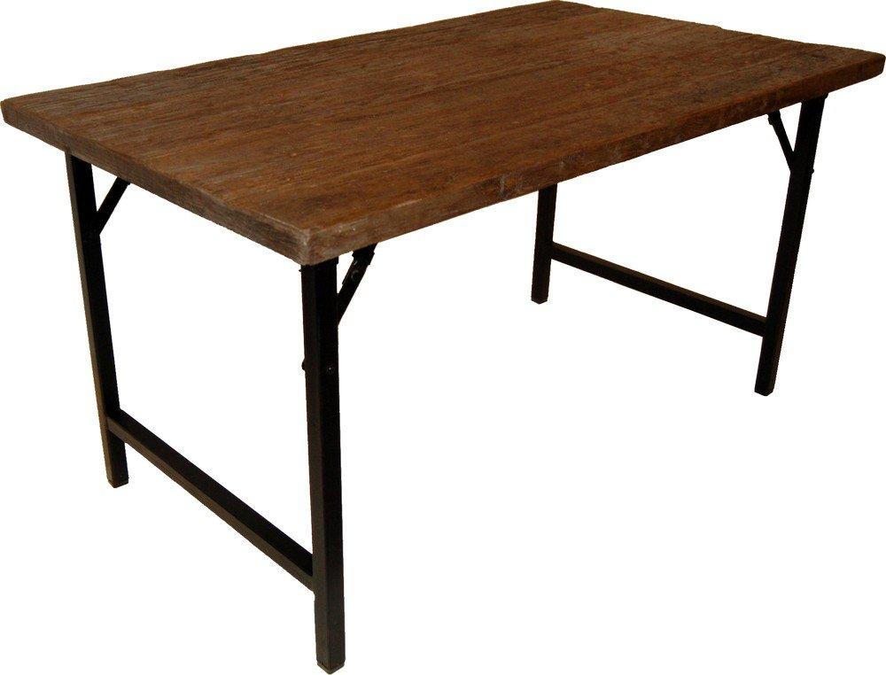 Regrund matbord 140 cm tervunnet tr metall 4595 kr for Wohnzimmertisch 140 x 80