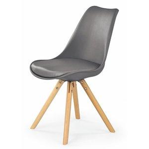 Shello stol - Grå/Ek - Matstol
