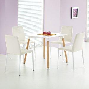 Nesto matbord 80x80 cm - Vit