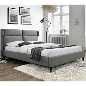 Santino säng - Grå (Tyg)