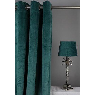 Velvet Gardinpar 240x140 cm - Grön