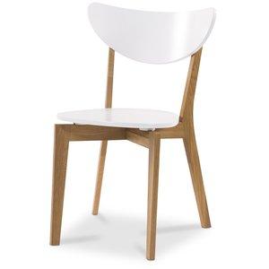 Nordic stol - Vit / Ek