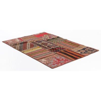 Äkta Patchwork-matta Persia - Kelim