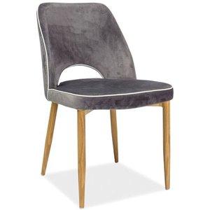 Jacey stol - Grå/ek